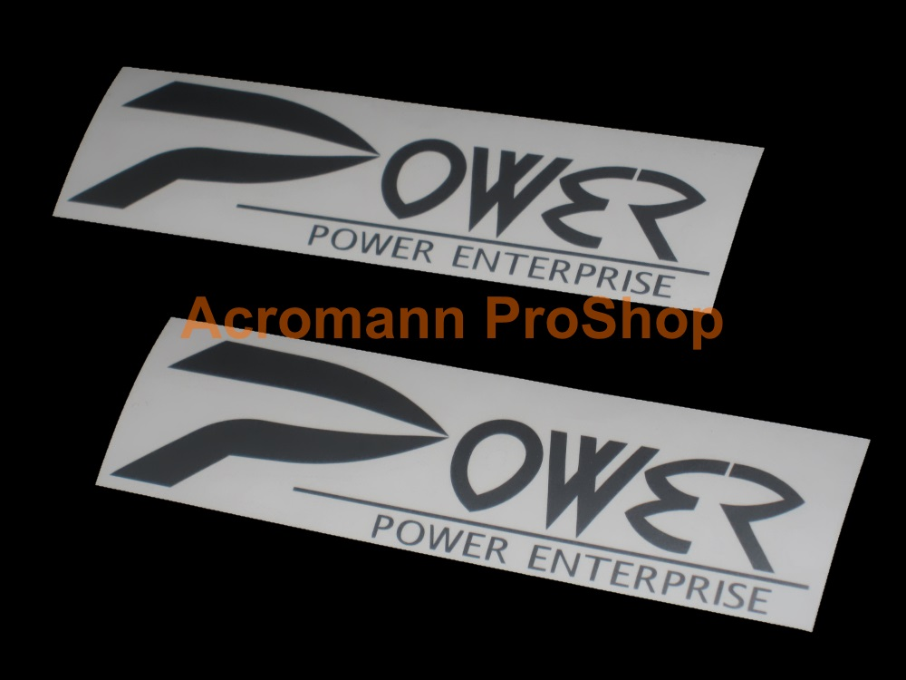 Power Enterprise 6inch Decal (Style#2) x 2 pcs